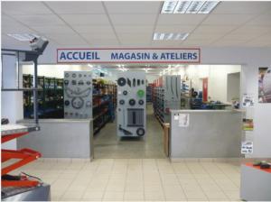 magasin de pièces détachées et SAV